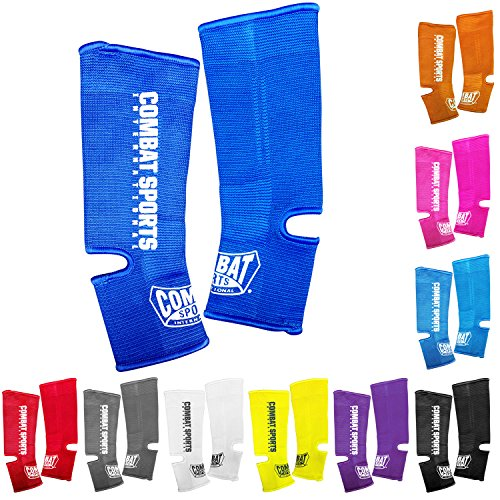 Combat Sports Muay Thai MMA Breathable Compression Sleeve Bandage Brace Ankle Support Wraps
