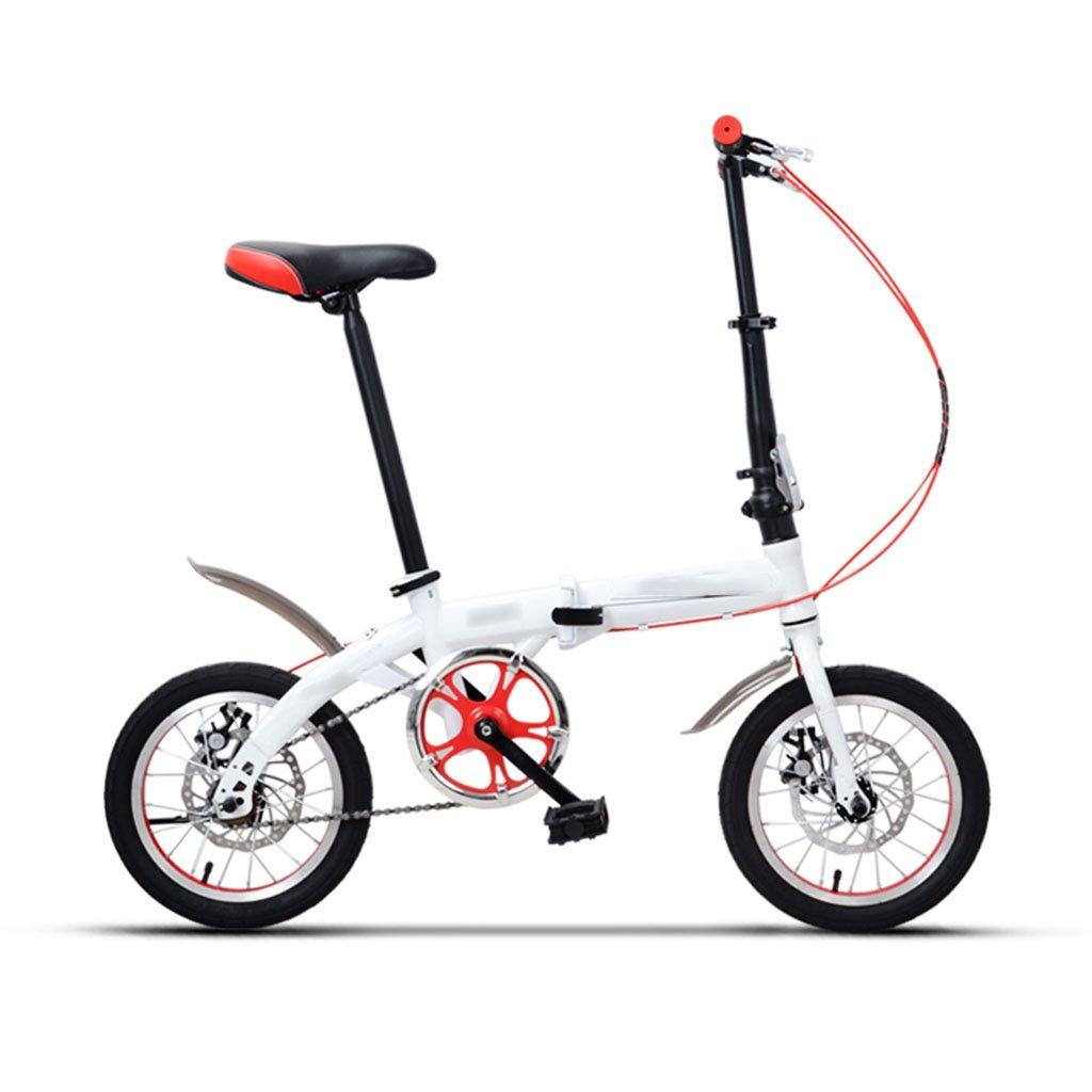 CGN子供用自転車、シングルスピードフォルド子供の生徒用ベビーキャリーベビーボーイ自転車 soft B07C4VFN6R白