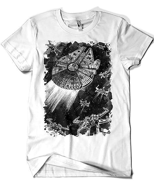 Camisetas La Colmena 3451-Camiseta Premium, Star Wars - Rebel Assault (Dr.