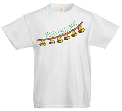 8eea0d14850 Kids Jingle Bells Merry Christmas Novelty T Shirt  Amazon.co.uk  Clothing