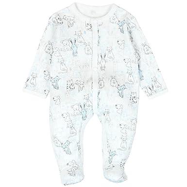 Boboli - Grenouillère - Bébé (garçon) 0 à 24 mois - Bleu - 9 mois ... 1ea619a301c