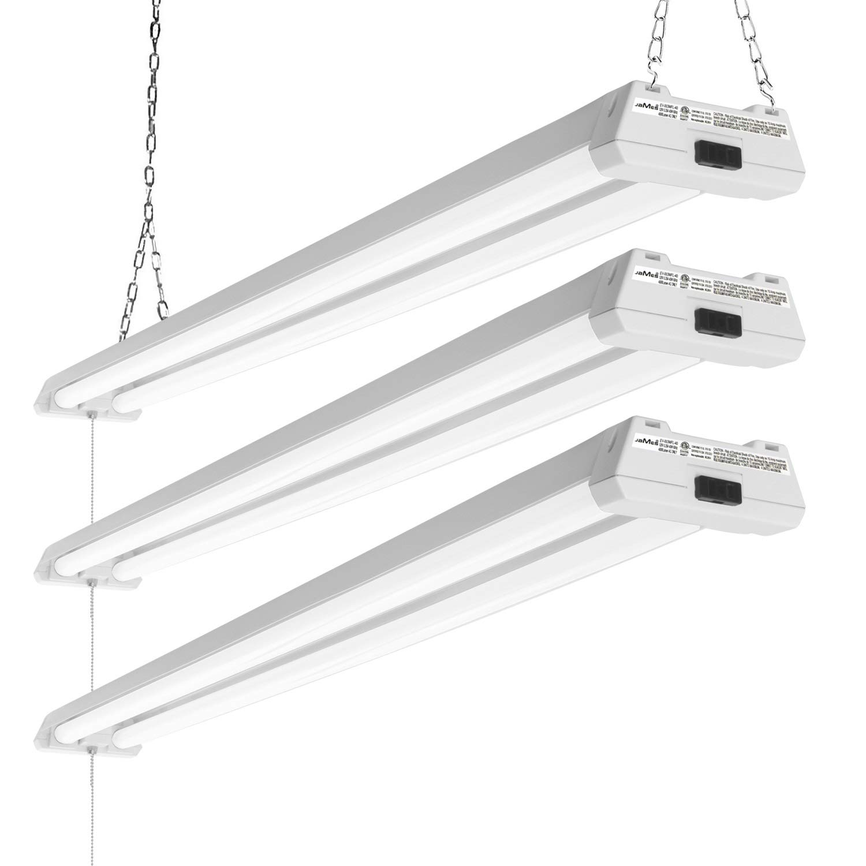 EVE 40W 4ft Linkable LED Utility Shop Lights For Garage