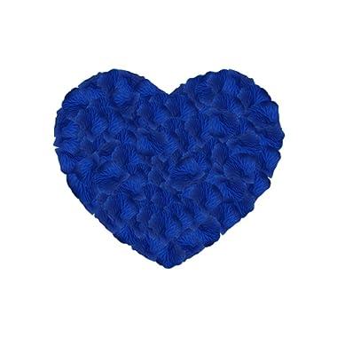 Neo LOONS 1000 Pcs Artificial Silk Rose Petals Decoration Wedding Party Color Sapphire Blue