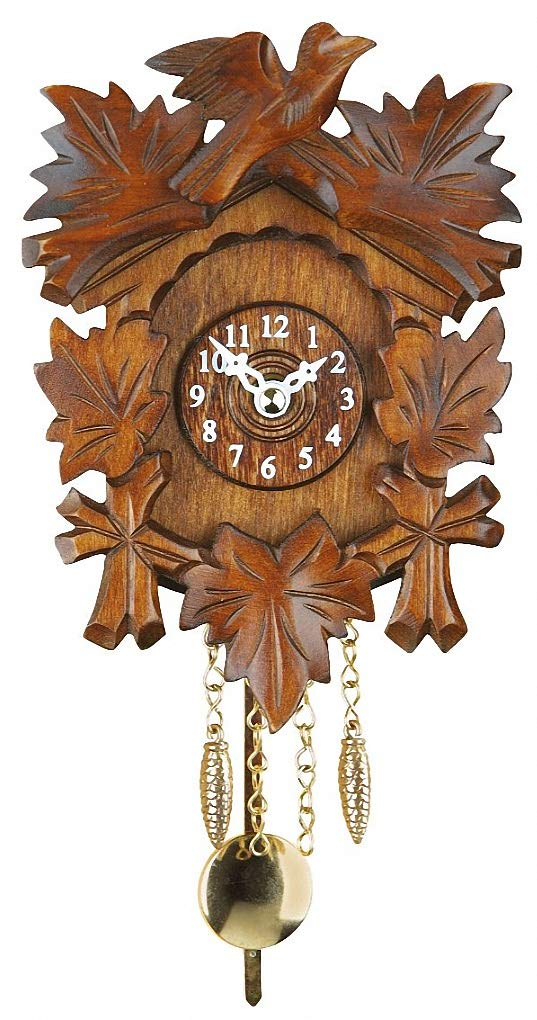 Trenkle Kuckulino Black Forest Clock with quartz movement and cuckoo chime TU 2015 PQ