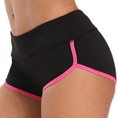 Womens Workout Shorts Hot Yoga Running Athletic Gym Dance Booty Dolphin Shorts