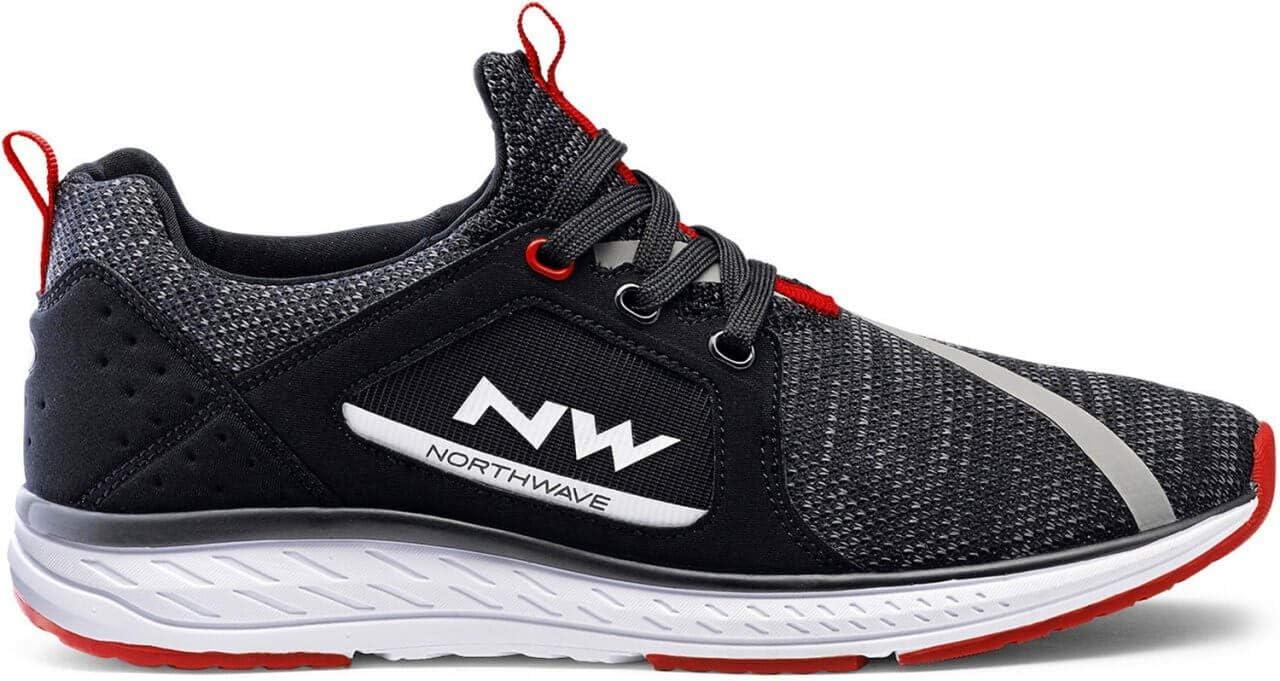 Northwave Podium Knit Freizeit Schuhe schwarz 2020