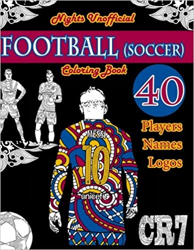 Football (Soccer) Coloring Book: Unofficial Night Edition ...