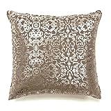 Furniture of America Galgano 18'' Square Throw Pillow (Set of 2)