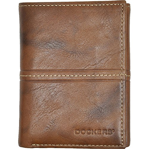 dockers-mens-trifold-wallet-brown-one-size