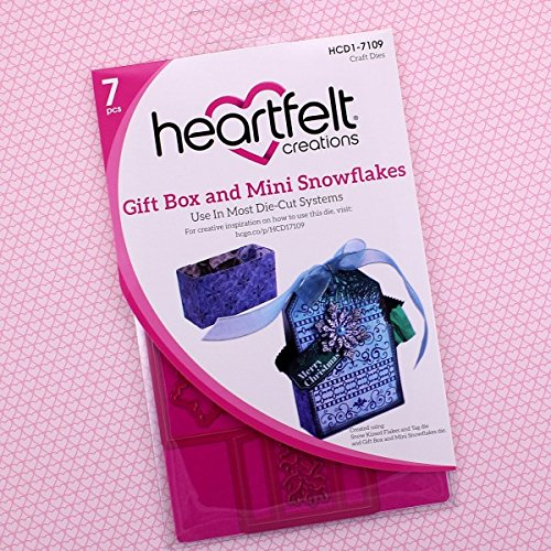 Heartfelt Creations Snow Kissed - Gift Box and Mini Snowflakes dies