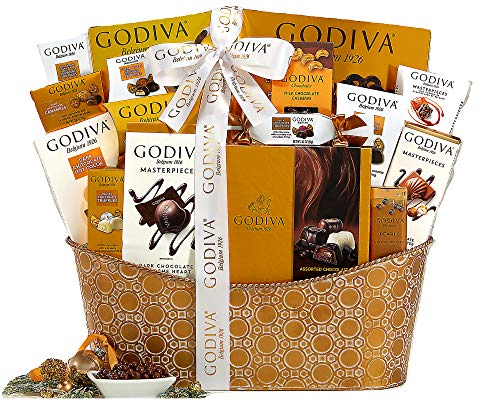 Godiva Pure Decadence Classic Ribbon Signature Chocolate Gift Basket ()