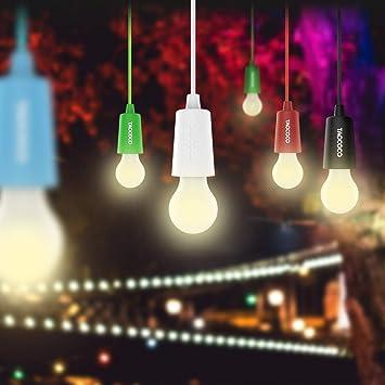 6pcs Lámparas LED Lamp, Lamps Farol de camping lámpara de armario bombilla LED multifunción de