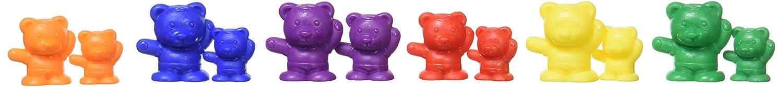 edx education education 53078 Conjunto de figuritas de oso para contar, 96 unidades