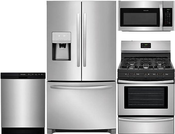 Amazon.com: Frigidaire – Juego de cocina de acero inoxidable ...
