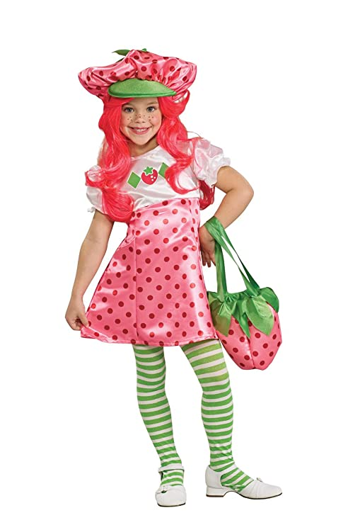 1f4c82f2f Image Unavailable. Image not available for. Color: Strawberry Shortcake  Deluxe Children's Costume ...