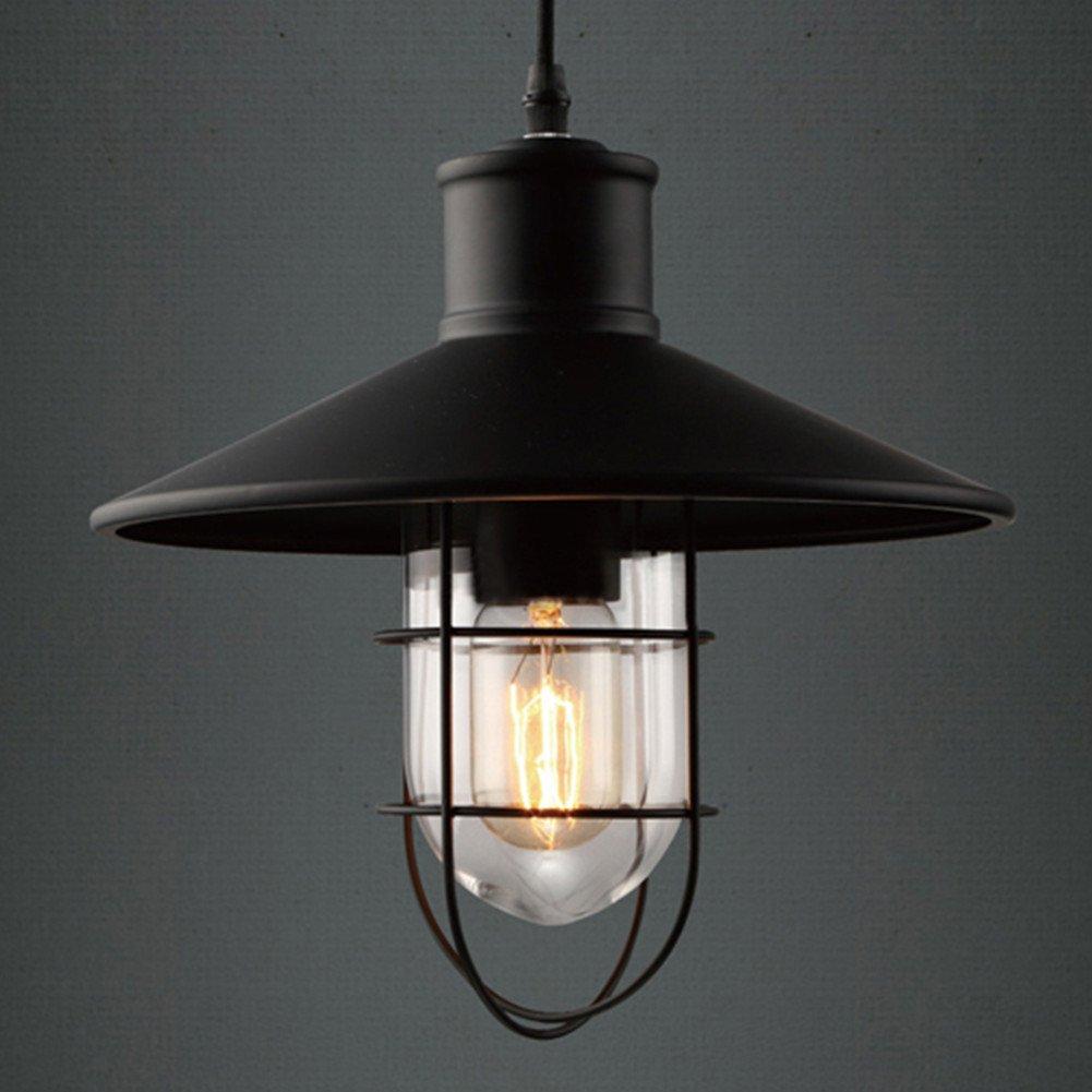 hang lighting. Pendant Lights, BAYCHEER HL371419 Industrial Vintage Style Glass House Cage Hanging Lamp Ceiling Lighting Use 1 E26 Bulb. Black - Amazon.com Hang L