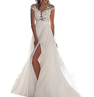 ANJURUISI Simple gasa playa vestidos de novia nupcial para bodas