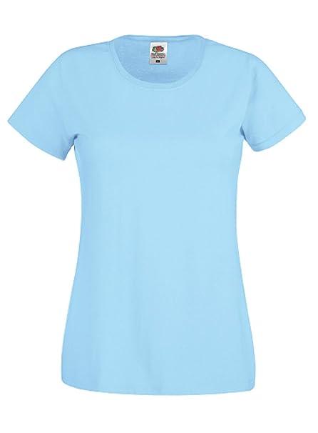 a6ccce102 Camiseta de manga corta para mujer de Fruit of the Loom  Amazon.es  Ropa y  accesorios