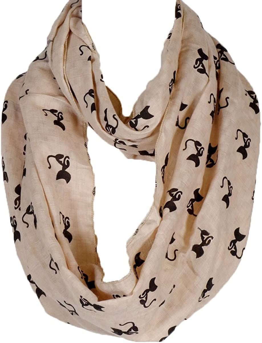 50's Kitty Infinity Scarf...