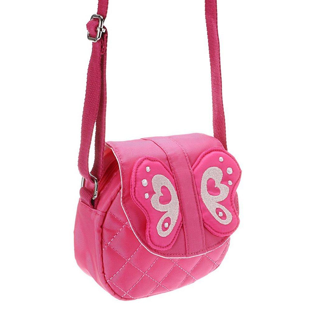 Owl Blue Kids Shoulder Bag Crossbody Purse Mini Cartoon Animal Preschool Messenger Handbag for Children Toddler Baby Girls DEEKEY