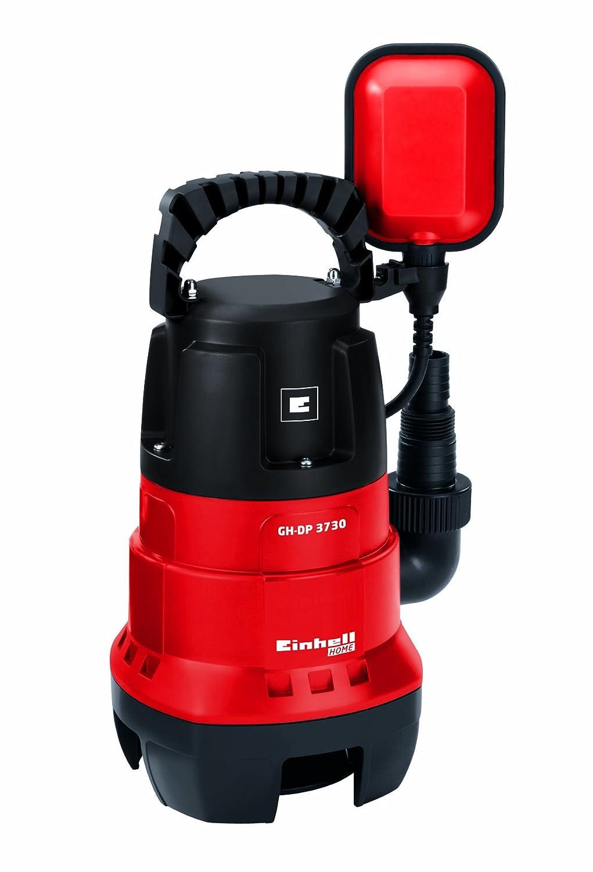 Einhell GH-DP 3730 -Bomba Sumergible Aguas Sucias , 370 W, 230 V (ref. 4170471) Bomba de agua residual