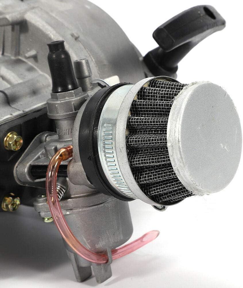 Nouveau moteur 49CC 2 temps pour mini moto Renn-Mini trottinette ATV Mini H/élicopt/ère de 49 cm3 Kit-Pull Starter pour v/éhicule tout-terrain