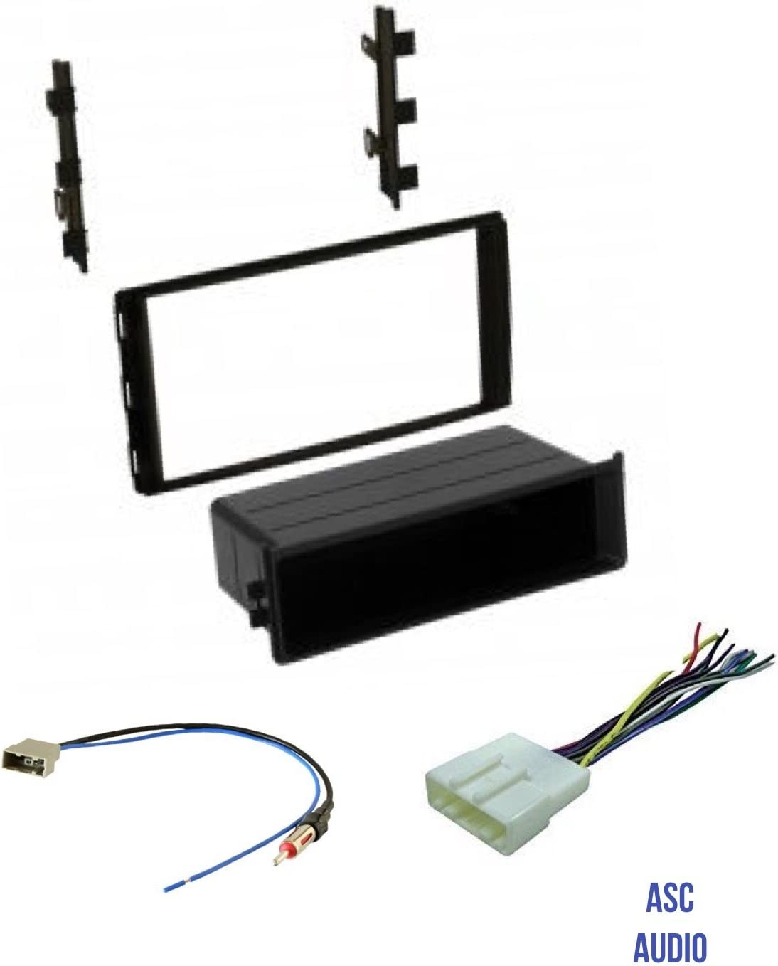 Amazon.com: Premium ASC Car Stereo Dash Install Kit, Wire Harness, and  Antenna Adapter to Install Aftermarket Radio for select Nissan Vehicles -  Compatible Vehicles Listed Below: Car ElectronicsAmazon.com