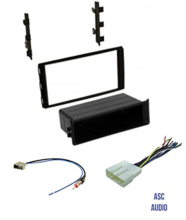 61FU tH8REL._SY450_ amazon com asc car stereo dash install kit, wire harness, and wire fu harness at bayanpartner.co