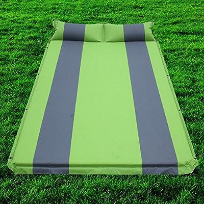DD Colchones Inflables Automáticos Caja de Repuesto Del Coche Cama Inflable Sedán Suv Vehículo Suv,Verde: Amazon.es: Deportes y aire libre