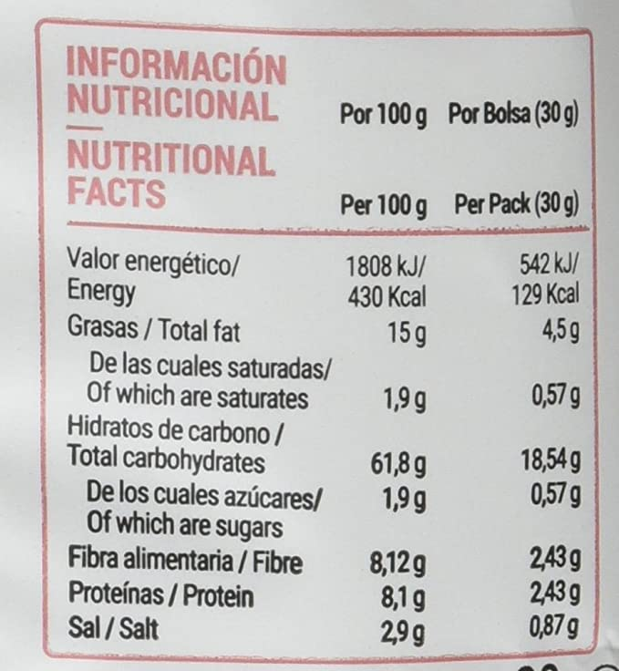 Anaconda Palomitas de Maíz Explotadas con Aire Caliente- Paquete de 6 x 30 gr - Total: 180 gr, sabor Sal del Himalaya: Amazon.es: Alimentación y bebidas
