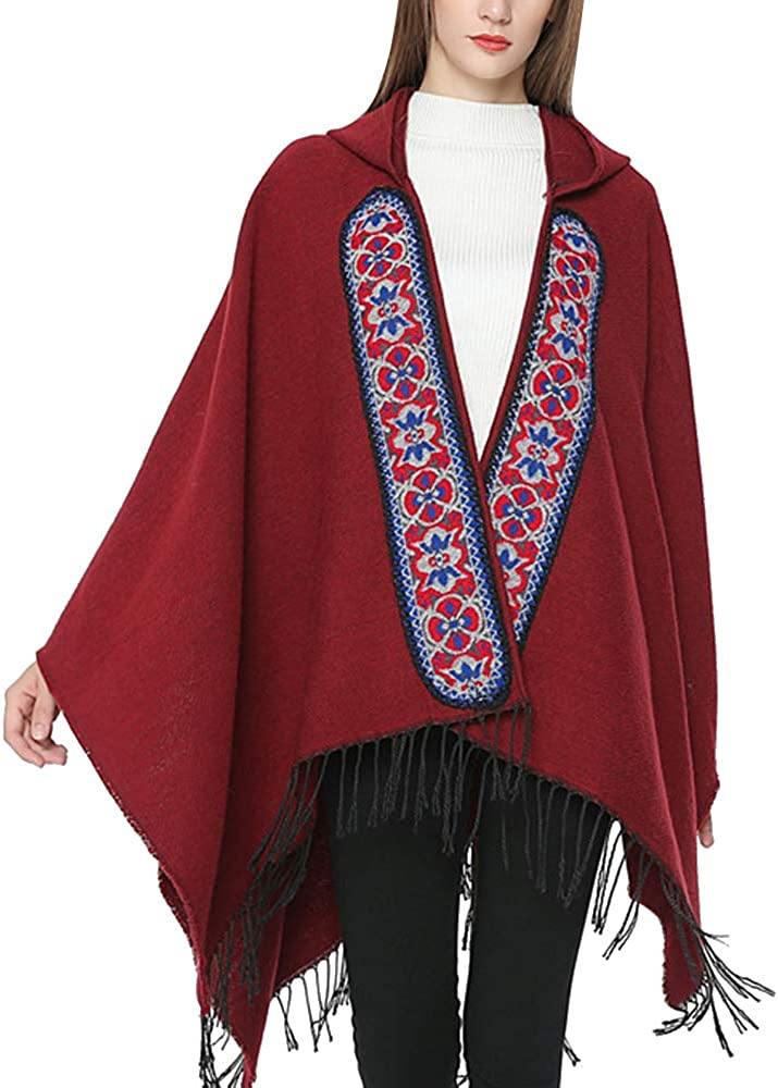 Women's Open Front Shawl...