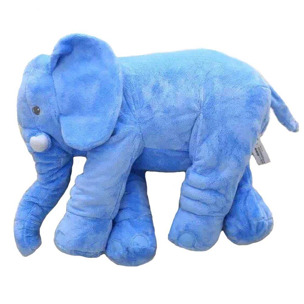 21 Inches Elephant Stuffed Plush Toys (blue)