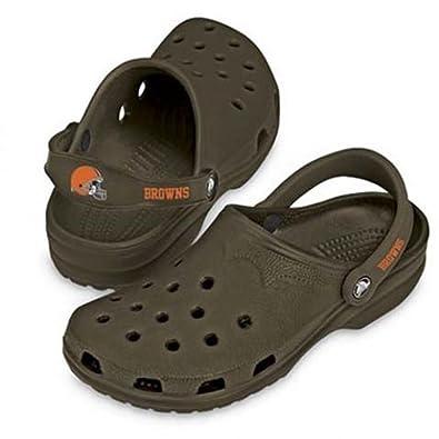 874f274a9 Browns Crocs Little Kids NFL Cayman ( sz. 03.0