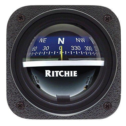 Ritchie Compass Ritchie V-537B Explorer Compass - Bulkhead Mount - Blue Dial ...