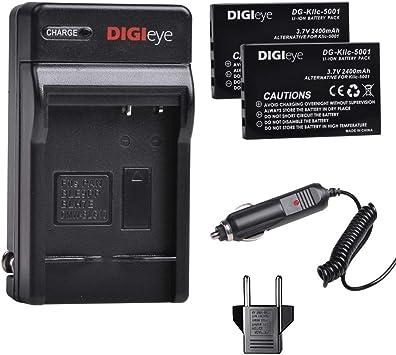 Cargador de Batería para Kodak Easyshare P712 P850 P880 Z730 Z7590 Zoom Z760 Nuevo