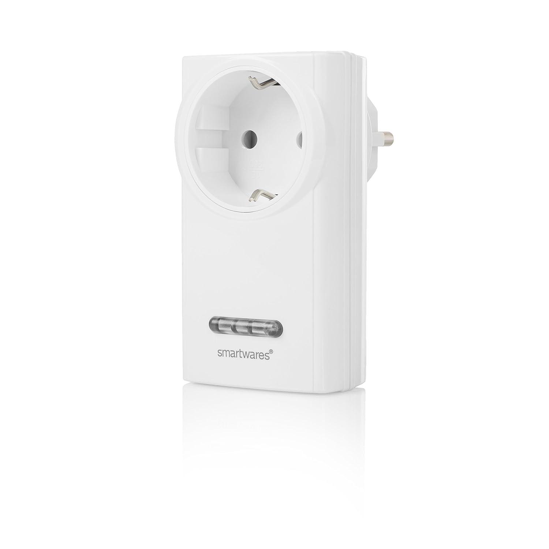 3600 W Blanco Smartwares SH5-RPS-36A Receptor de Interior con Interruptor inal/ámbrico