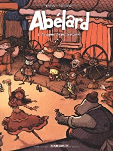 vignette de 'Abélard n° 1<br /> La danse des petits papiers (Renaud Dillies)'