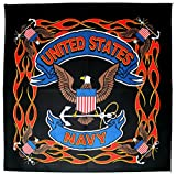 united states bandanna - United States Navy Bandanna 21 Inches by 21 Inches MADE IN THE USA