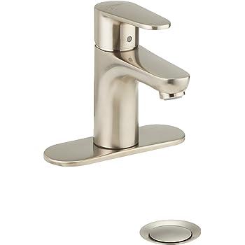 Hansgrohe 31612821 Talis E2 Single Hole Faucet Brushed