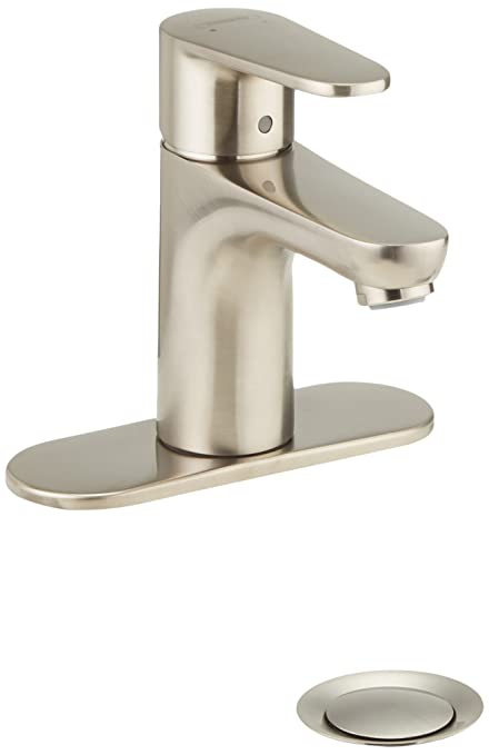 Hansgrohe 31612821 Talis E2 Single Hole Faucet, Brushed Nickel
