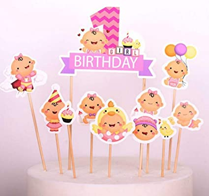 Amazon Sinrier Baby Boy Gril Cupcake Toppers For Kids