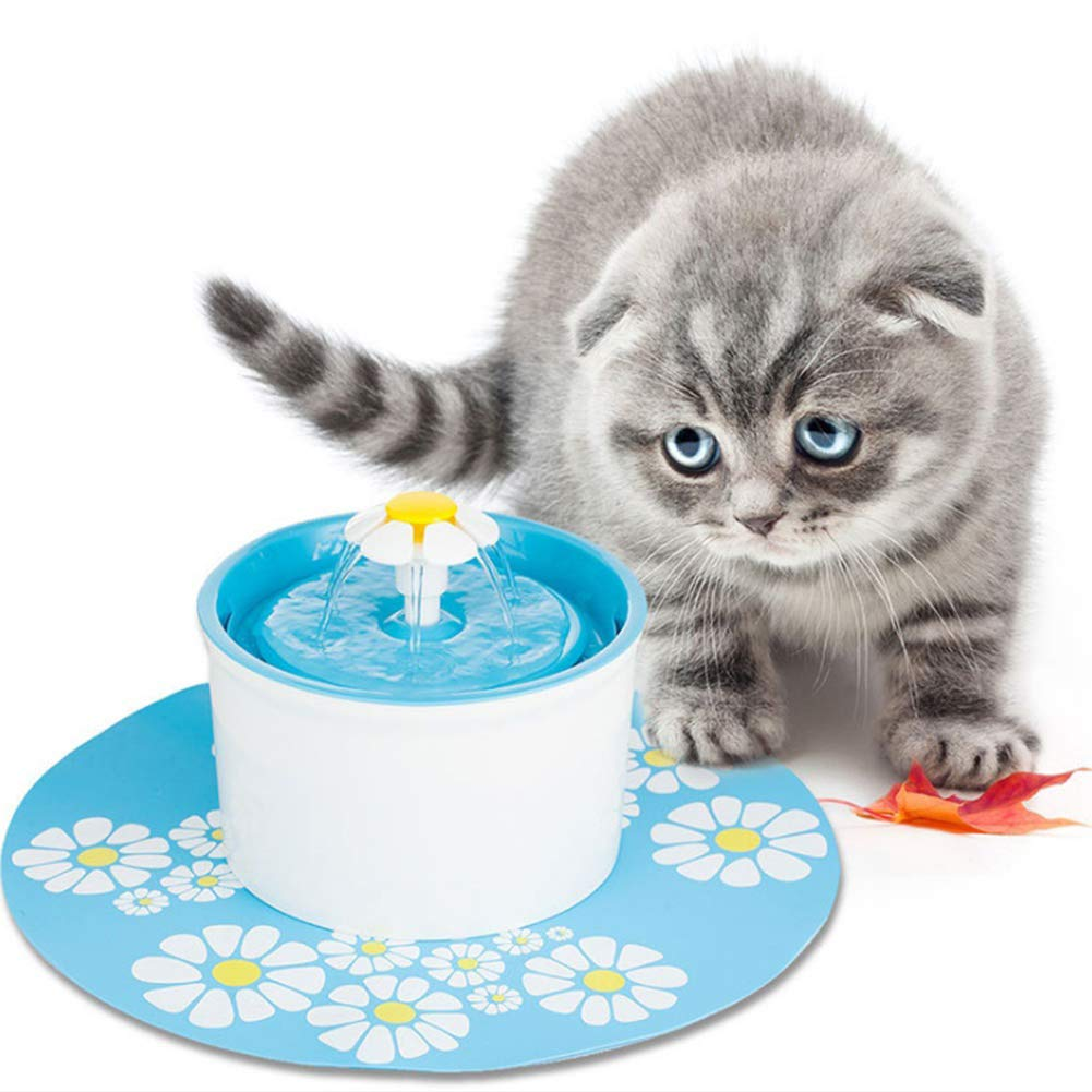 angel3292 2Pcs Filter for Automatic Pet Cat Dog Kitten Puppy Water Drinking Fountain Tool White