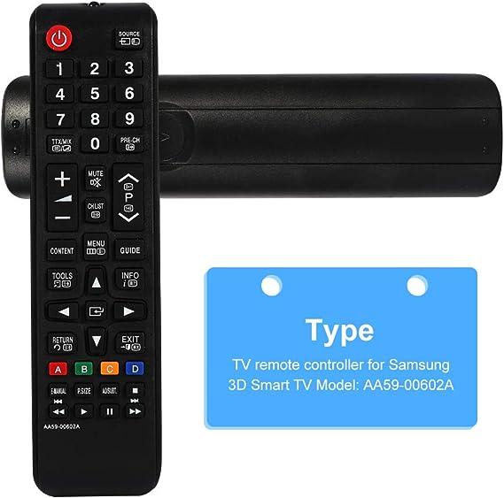 Reemplazo de Control Remoto Universal para Samsung Smart TV AA59 ...