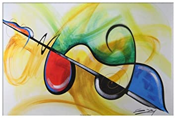 Flavor Of Music Artist Gerald Ivy 24x36 Abstract Art Print Poster African American 9d15