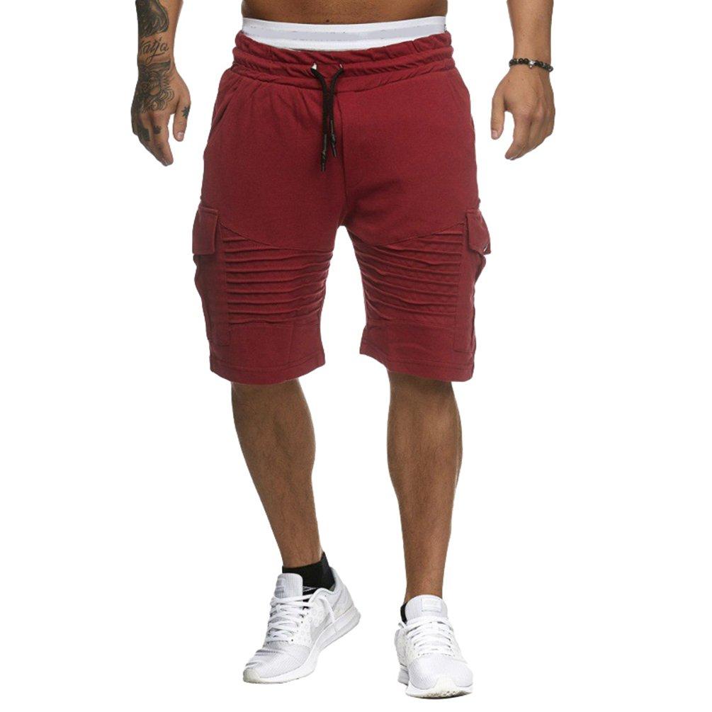 Tookang Deportivo Casual Jogging Bermuda Short Derecho Pantalón Corto para  Hombre CcO7vi3Z 6af4ec6a2da13