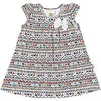 Vestido Rotativo Branco Bebê Menina Cotton 36108-289