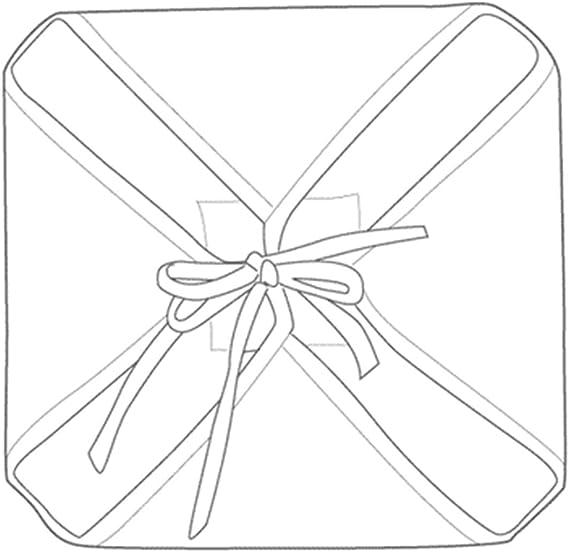 Galette de Chaise Anti-Taches /à Rabats Lotus Lignes Blanc