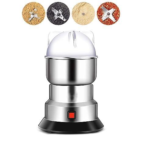 Máquina mezcladora eléctrica para especias Grano de café 550 W Grinder pequeño Acero inoxidable portátil Molinillos