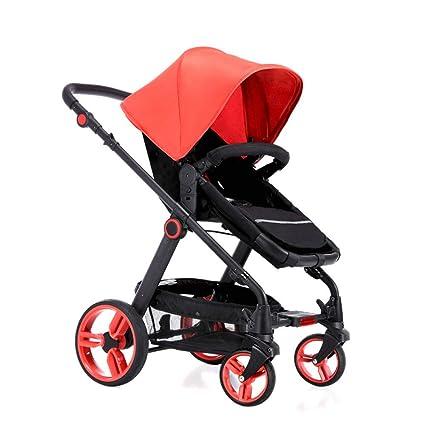 RAQ Los cochecitos de bebé de aleación de Aluminio, ultraligeros y Plegables se Pueden sentar