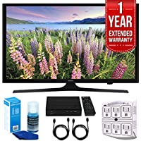 Samsung UN49J5000 - Flat 49 LED HD 5 Series Smart TV (2017 Model) with 1 Year Extended Warranty + Accessories Bundle